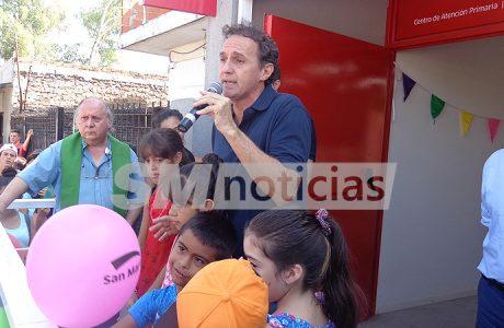 Katopodis inauguró un centro de salud en Villa Lanzone