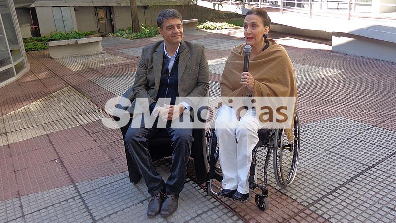 Michetti recorrió el Instituto Marini junto a Macri
