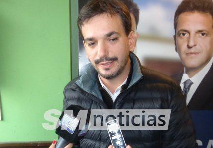 Sebastián Galmarini en San Martín