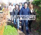 Leo Nardini y Sol Jiménez en Villa de Mayo