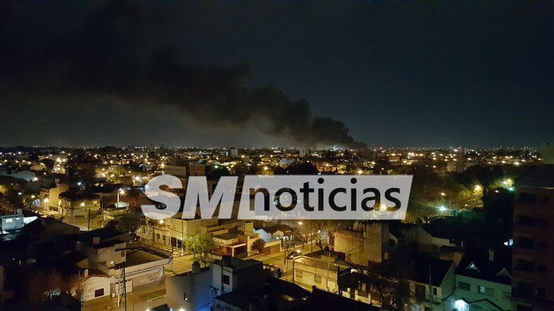 incendio-en-la-noche