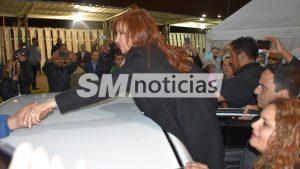 Cristina en Merlo con Menéndez 1