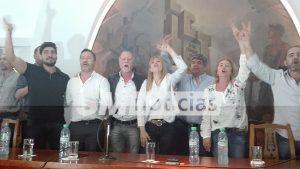 Intendentes peronistas y la cúpula de la CGT homenajearon a Rucci 3