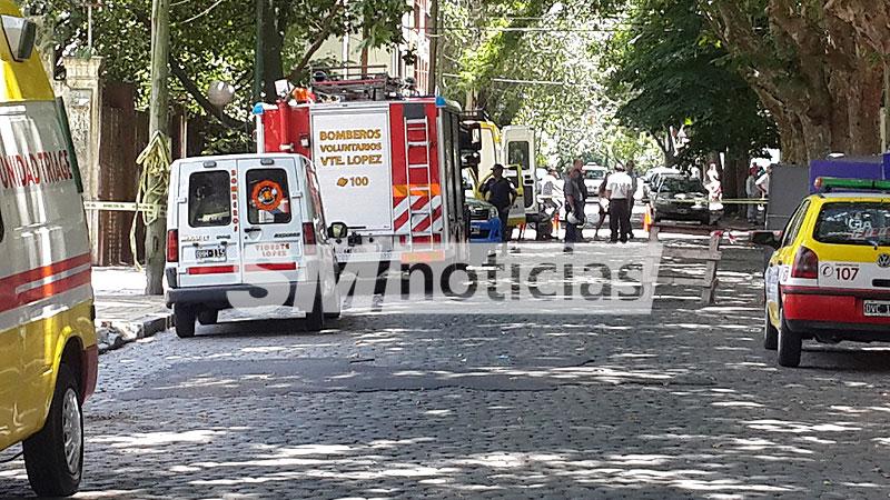 Fallo eléctrico causó alarma en escuela de Vicente López: Hubo alumnos hospitalizados