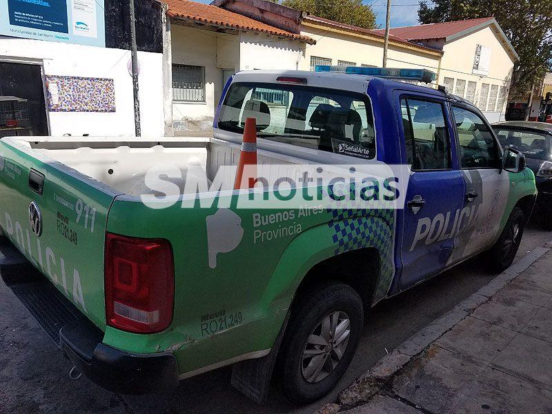 Pareja de policías apareció baleada esta mañana en San Martín
