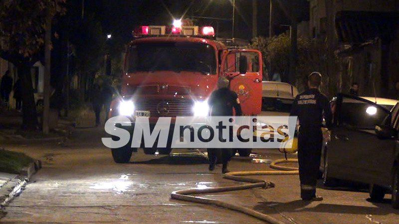 Dos chicas de 13 años murieron en un trágico incendio en San Miguel