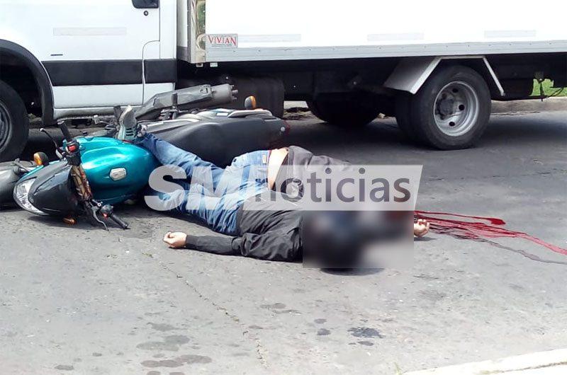 Dos delincuentes abatidos al intentar robar un camión de repartos en Villa Bosch