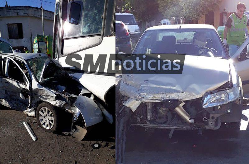 Seis heridos tras impactante choque en Pablo Podestá