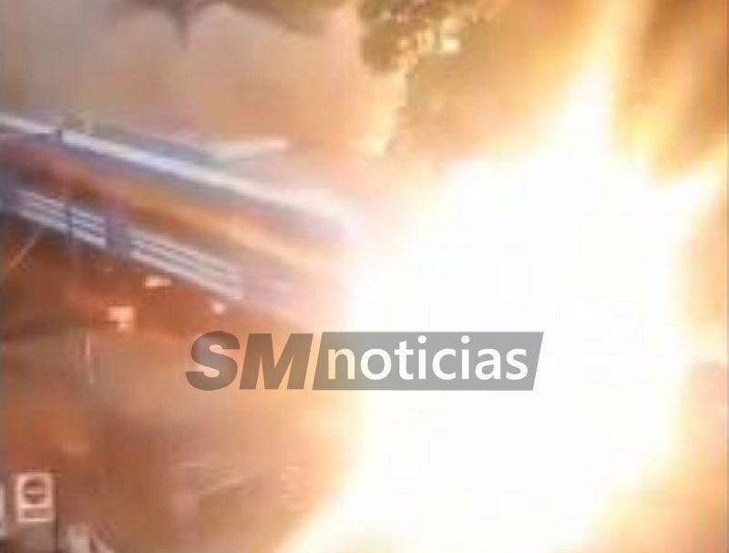 Explosión y pánico en el tren Mitre a metros de la estación Ballester