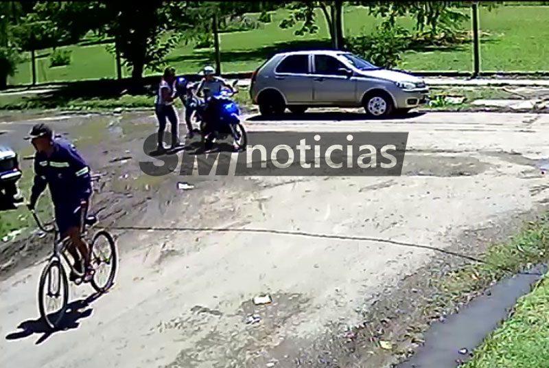 José C. Paz sin Estado: Le robaron la moto y casi se llevan a su hijo