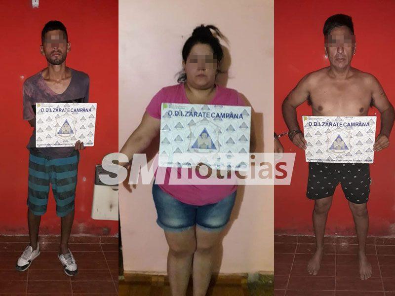 Cayeron narcos con armas de guerra en Villa Corea de San Martín