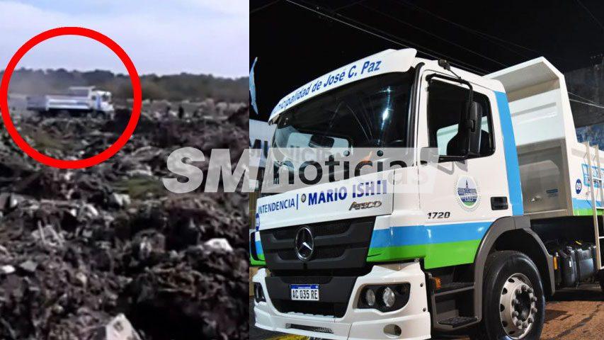 Vecinos intoxicados mientras camiones de Ishii descargan en basural clandestino