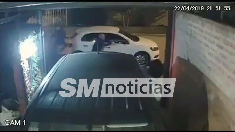 Intentaron entradera en San Miguel y escaparon a José C. Paz tiroteados por un vecino
