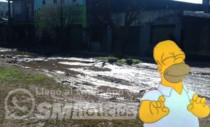 Ishii cumplió el deseo de Homero: La calle de chocolate en Parque Jardín