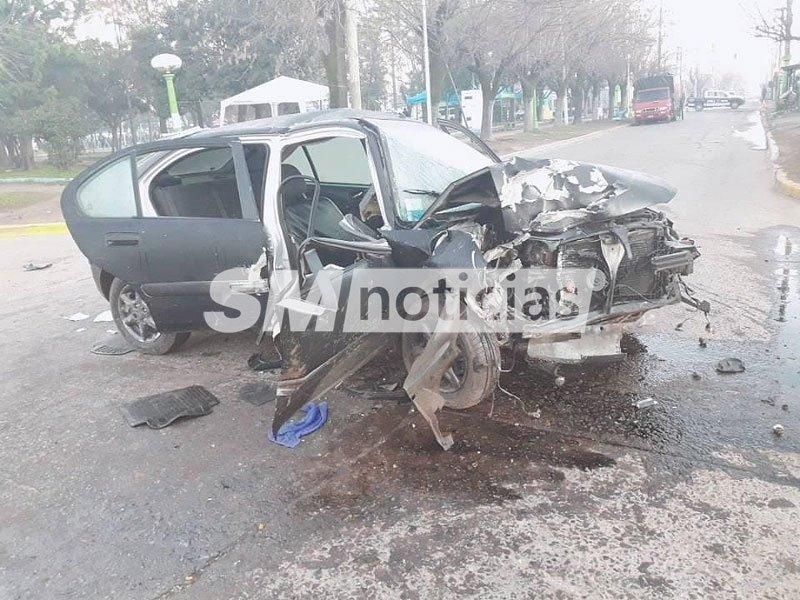 Grave accidente en José C. Paz dejó tres personas heridas