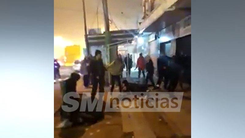 Batalla campal en José C. Paz deja policías municipales heridos