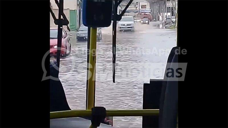 José C. Paz, sí se inunda más