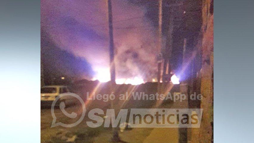 José C. Paz: Nada más tóxico que vivir en un incendio permanente