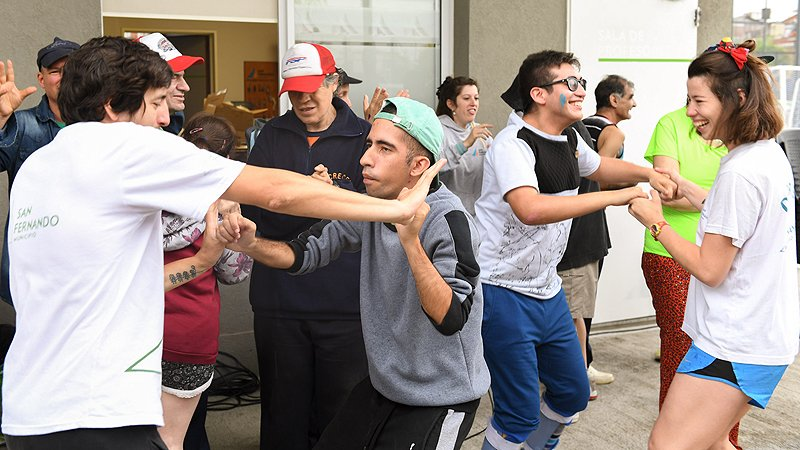 San Fernando fue sede de un encuentro regional recreativo para personas con discapacidad - SMnoticias