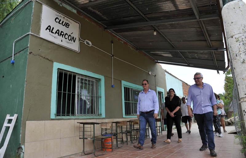 El Municipio reacondiciona el Club Alarcón de Don Torcuato - SMnoticias