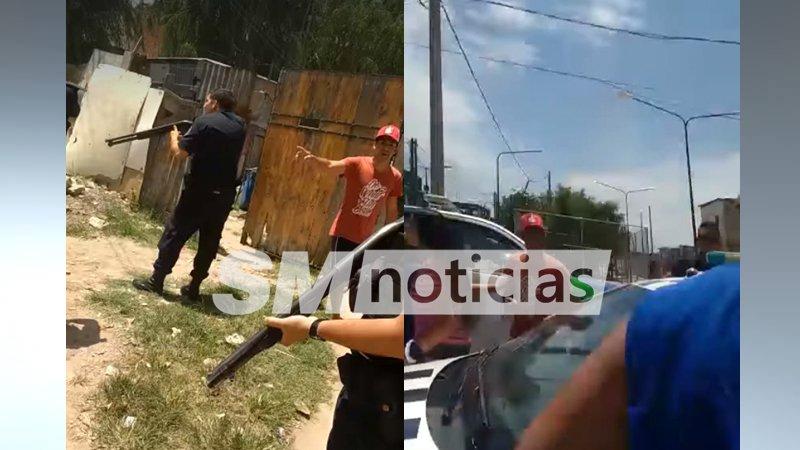 """Familiares de delincuentes agreden a policías: """"La gorra no tiende derecho a nada"""""""