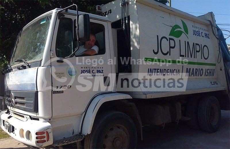 """Vecino: """"En José C. Paz, si no les doy propina los recolectores no se llevan la basura"""""""