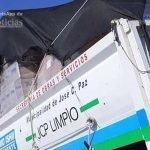 Piedra libre a los camiones de basura de Mario Ishii: Cargando comida en el Mercado Concentrador